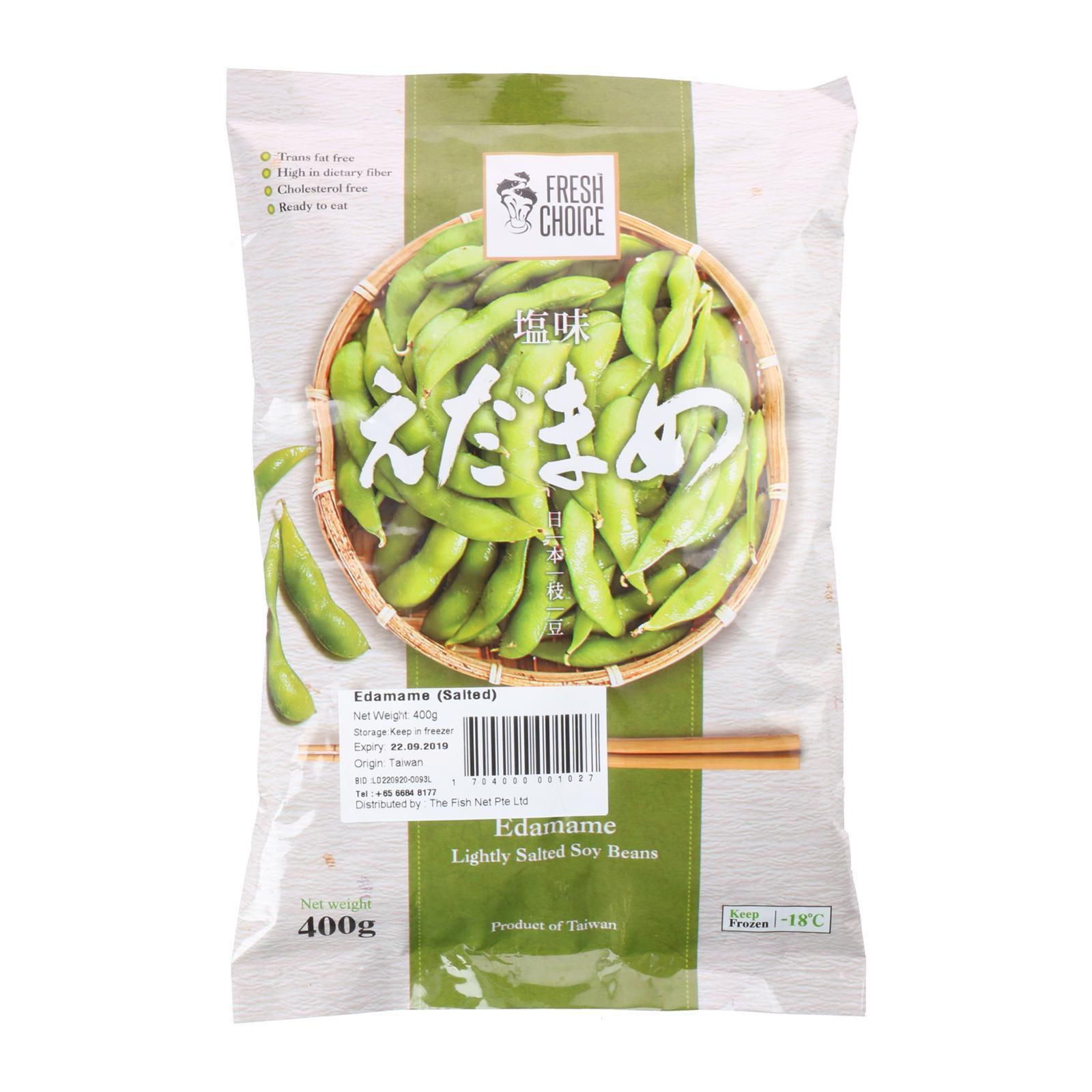 Catch Seafood Salted Edamame - Frozen By Redmart.