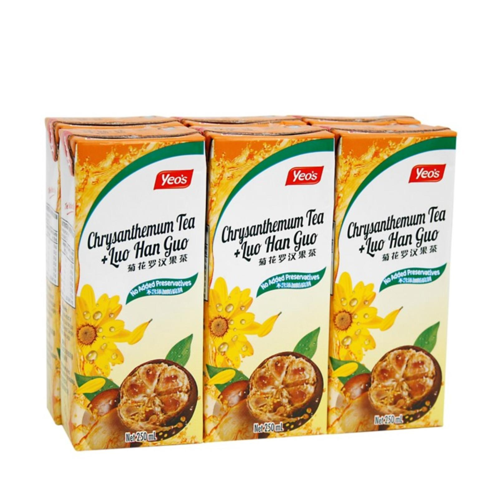 Yeo's Chrysanthemum and Luo Han Guo Tea