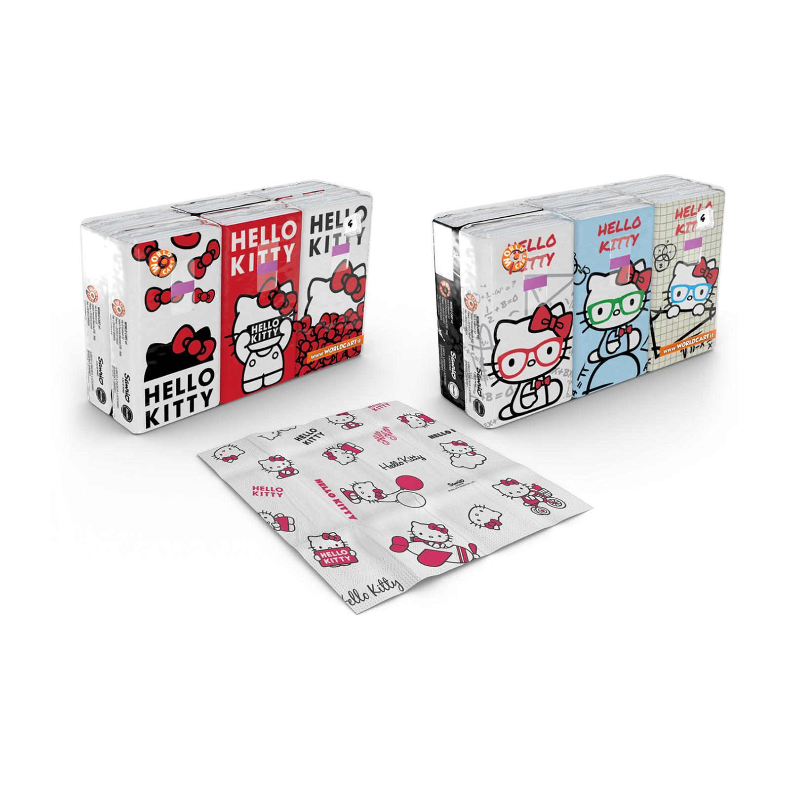 Sanrio Hello Kitty Printed Soft Tissue (Icon + Math)