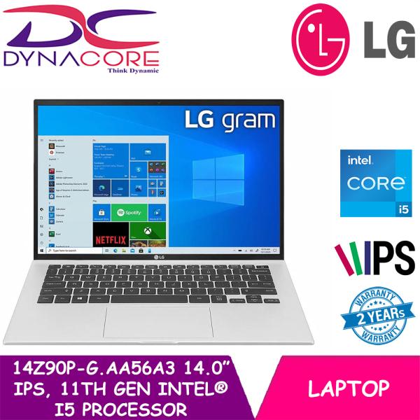 [PRE-ORDER] DYNACORE - LG gram 14.0 14Z90P-G.AA56A3 Laptop with 16:10 WUXGA IPS Display, 16GB RAM, 11th Gen Intel® Core™ (Certified Evo™ Platform) i5 Processor and Thunderbolt™ 4, WIN 10