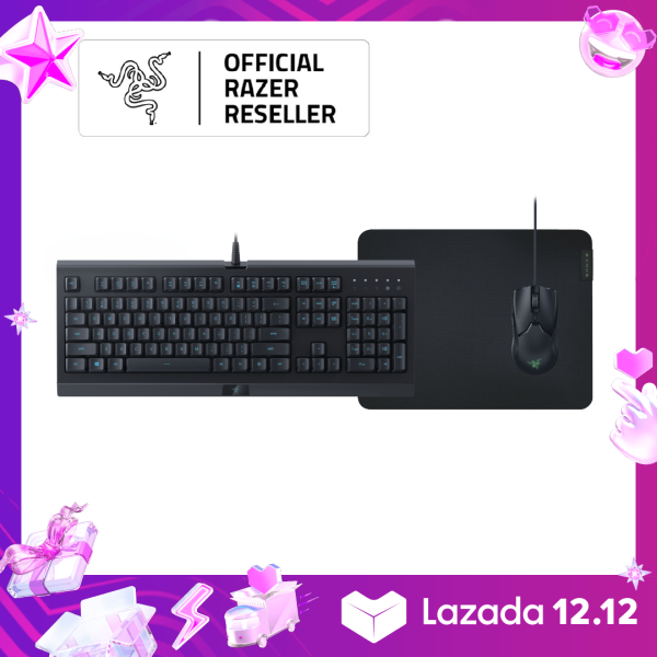Razer Level Up Bundle – Cynosa Lite + Viper Mini + Gigantus V2 - Medium – US Layout FRML Packaging Singapore
