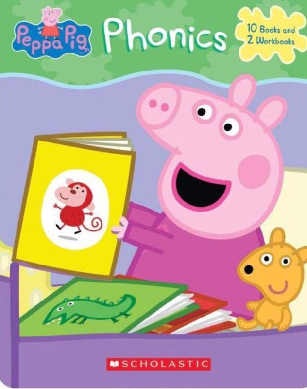 Peppa Pig Phonics (10 books + 2 workbooks)
