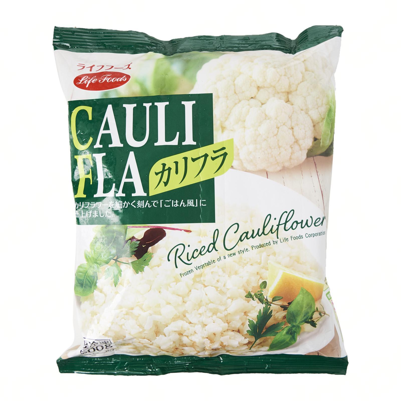 Life Foods Riced Cauliflower - Frozen - Jetro Special