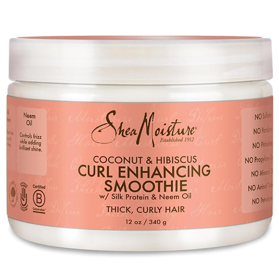 Sheamoisture Coconut And Hibiscus Curl Enhancing Smoothie - 340g By Wooolala.