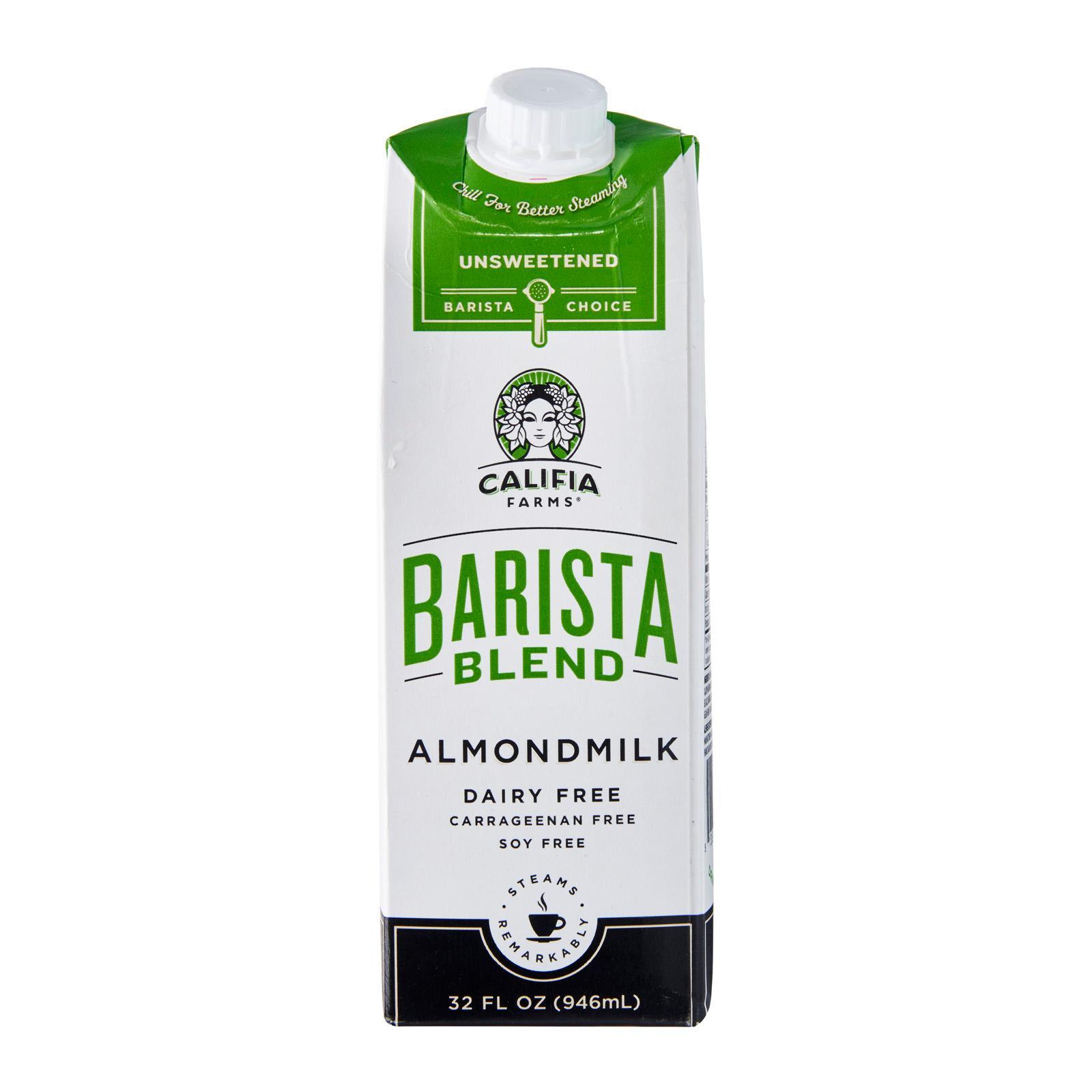 Califia Farms Unsweetened Barista Blend Almond Milk