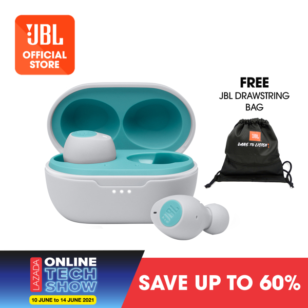 JBL Tune 115TWS True wireless in-ear headphones + JBL Drawstring Bag Singapore