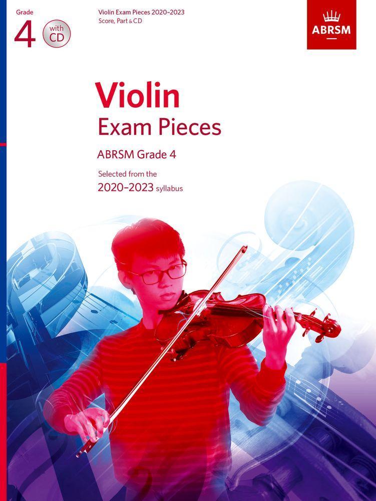 VIOLIN EXAM PIECES 2020-2023 G4 W/CD