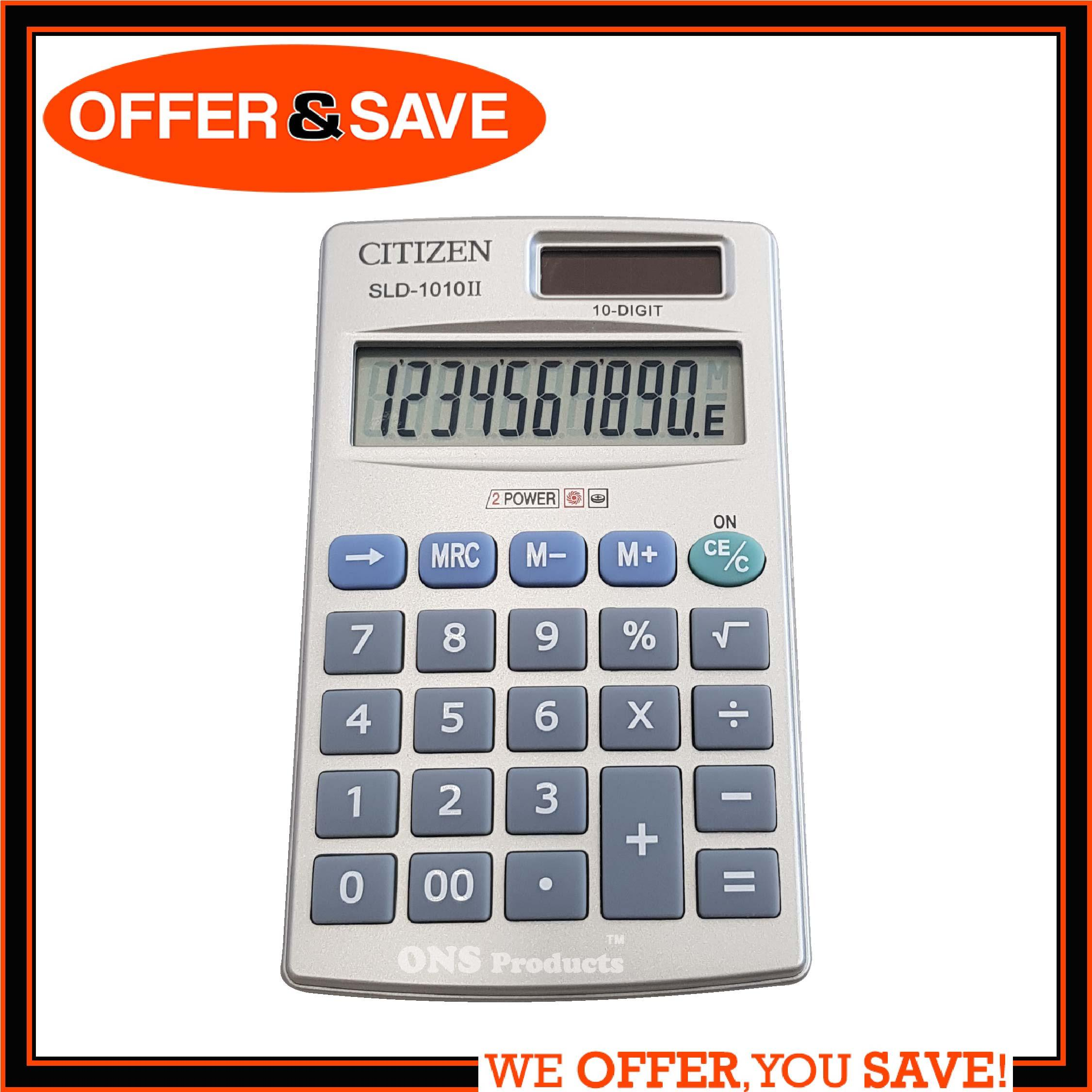 CITIZEN Pocket Calculator SLD-1010