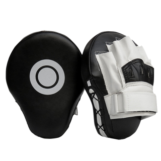 Boxing Leather Punch Focus Mitts,Target Training Hand Pads for Karate, Muay Thai Kick, Sparring, Dojo, Martial Arts thumbnail