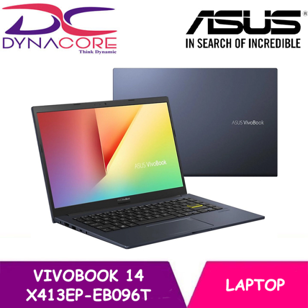 【DELIVERY IN 24 HOURS】 ASUS VivoBook 14 X413EP-EB096T Laptop (14FHD IPS Slim | i5-1135G7 | 8GB | 512GB SSD | MX330 | 2YEARS WARRANTY BY ASUS)