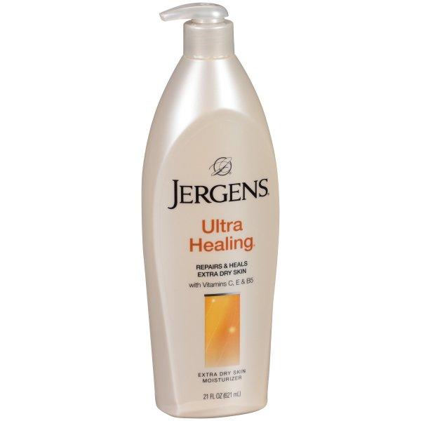 Buy (BUNDLE of 3) Jergens Ultra Healing Nourishes and Heals Extra Dry Skin Moisturizer (3 x 600ml) ) Singapore