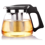 Get The Best Price For 900Ml Heat Resistant Glass Teapot With Stainless Steel Strainer