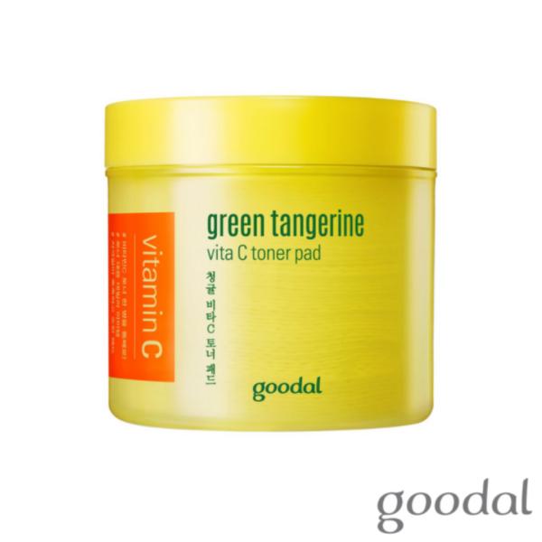 Buy [Goodal Official] Green Tangerine Vitamin C Toner Pad Singapore