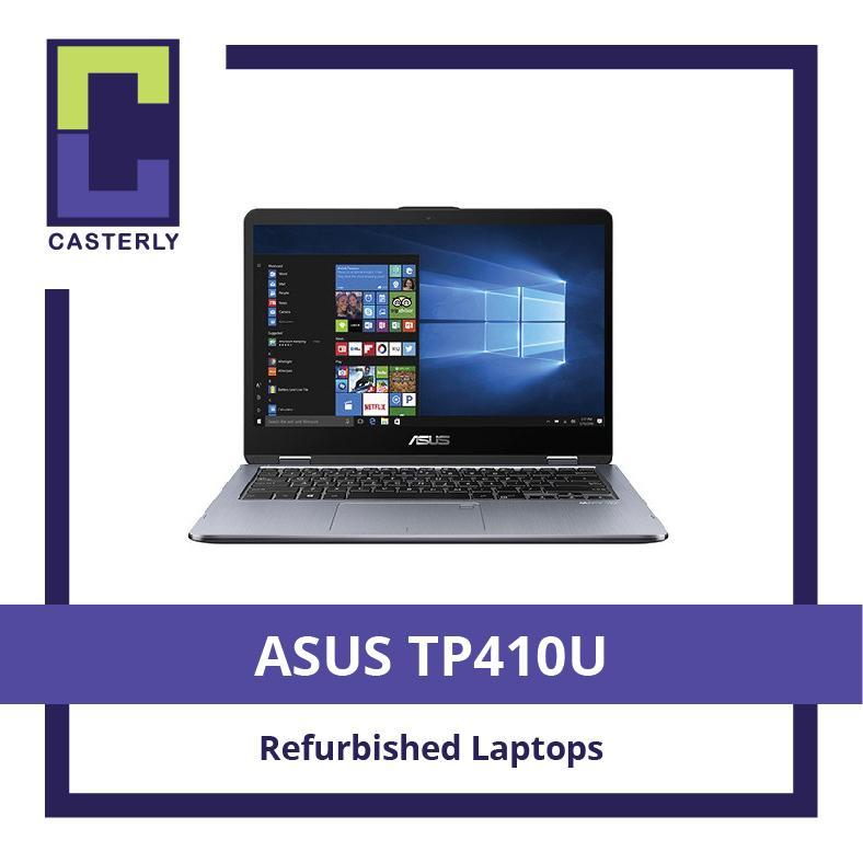 [Refurbished] ASUS TP410U VivoBook / 14 inch / Intel Core i5 / 8GB RAM / 256GB SSD / 930MX / WIN 10 / 3 Months Warranty