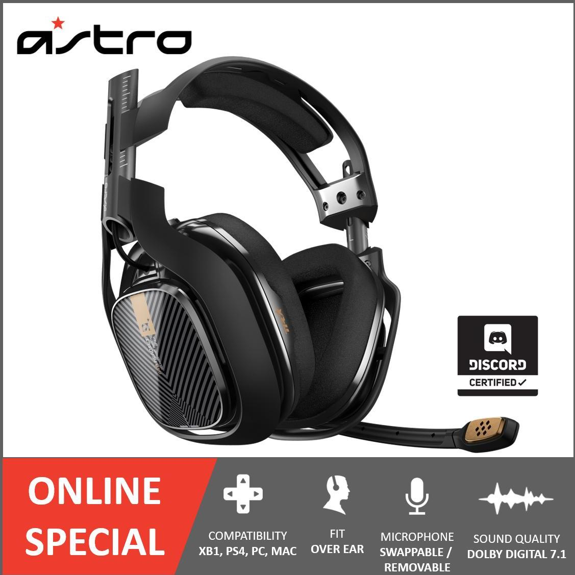ASTRO Gaming A40 TR Headset FOR PC MAC