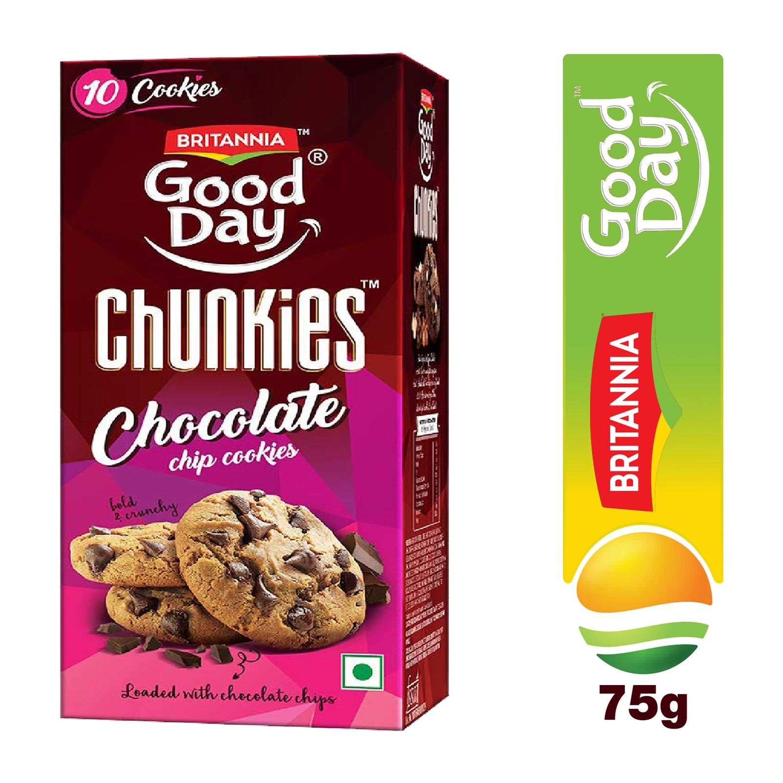 Britannia Good Day Chunkies Chocolate Chip Cookies - By Sonnamera