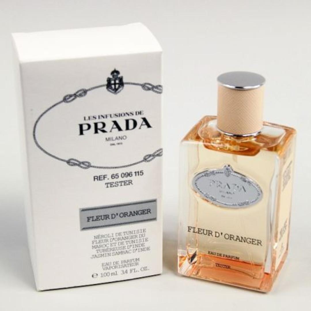 79600c31 Prada Les Infusions de Fleur d'Oranger EDP for Women (100ml Tester) Milano  dOranger Eau de Parfum Orange