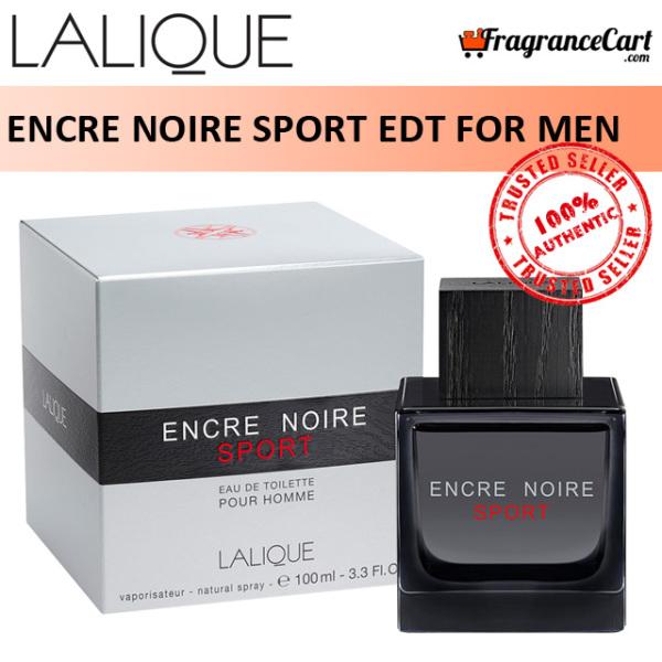 Buy Lalique Encre Noire Sport EDT for Men (100ml) Eau de Toilette Silver Black [Brand New 100% Authentic Perfume/Fragrance] Singapore