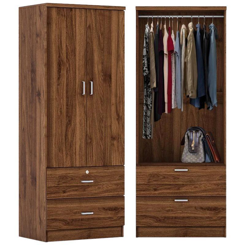 Wilton 2-Door Wardrobe with 2-Drawers