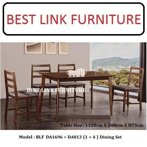 BEST LINK FURNITURE BLF Jess (1 +4) Dining Set