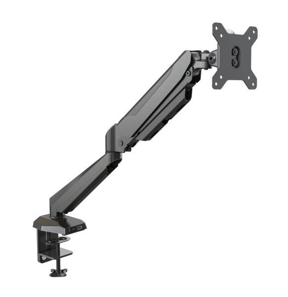 IM Single Monitor Arm  [Free Delivery | Local Seller | Dynamic Spring Management, Cable Management System, 1x Media Port and 1x USB port, 360 Rotation]