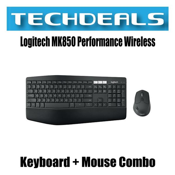 Logitech MK850 PERFORMANCE Wireless Keyboard and Mouse Combo Singapore