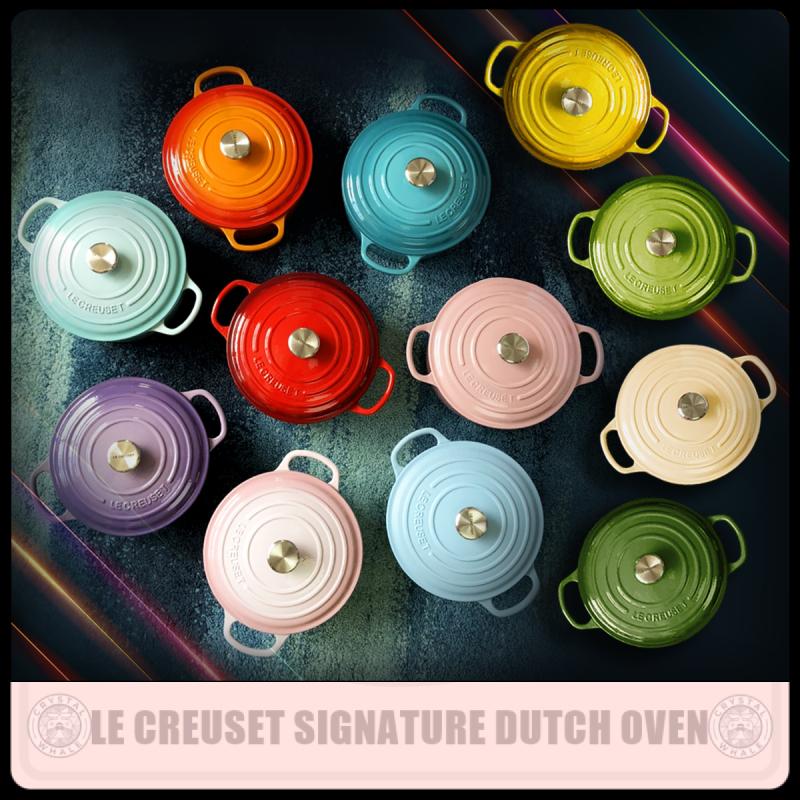 Le Creuset Enameled Cast Iron Round Dutch Oven 24 cm Singapore