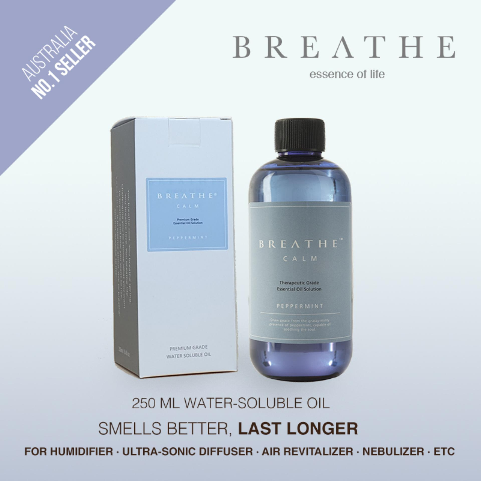 BREATHE Air Revitalizer Essence - Peppermint