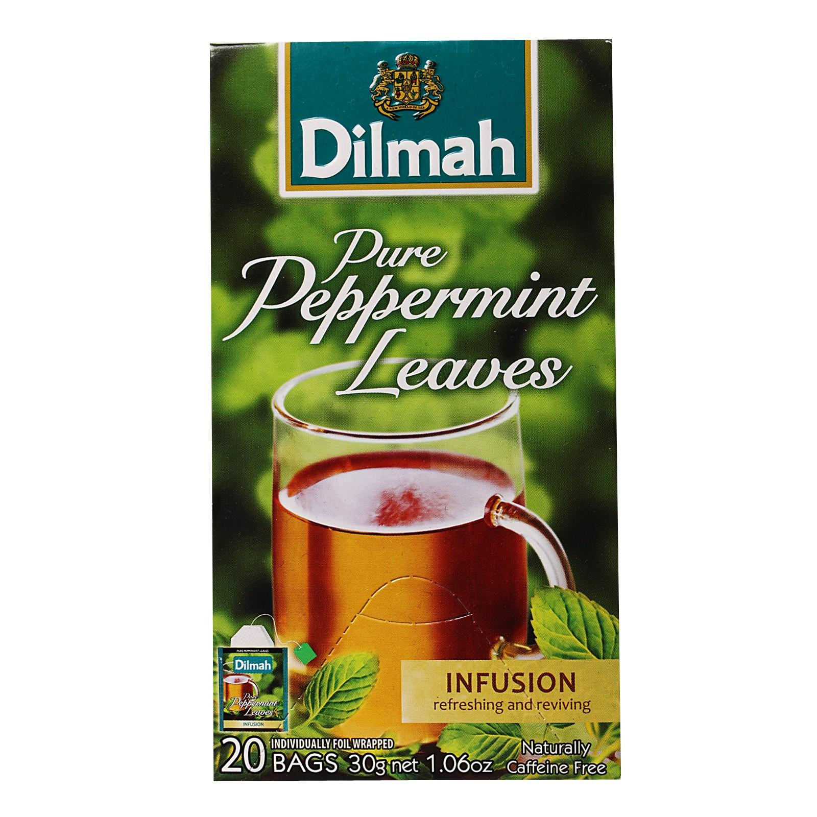 Dilmah Pure Peppermint Leaves By Redmart.