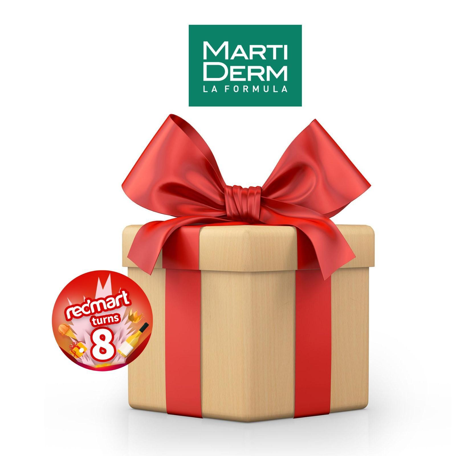 MartiDerm RedMart x MartiDerm Skin Care Surprise Box