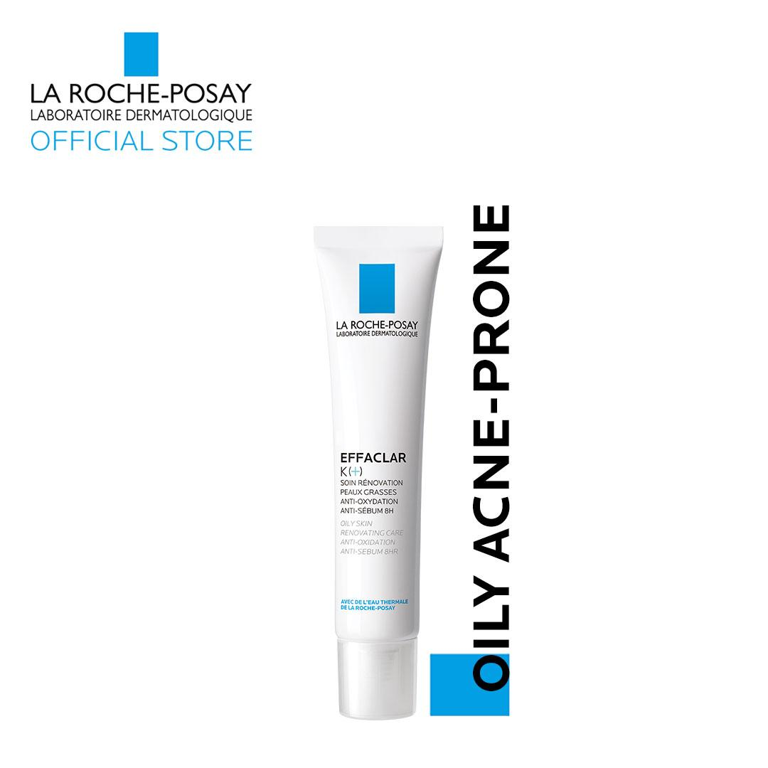La Roche-Posay Effaclar K+ Daily Treatment For Oily Skin & Blackheads 40ml By La Roche-Posay Official Store.