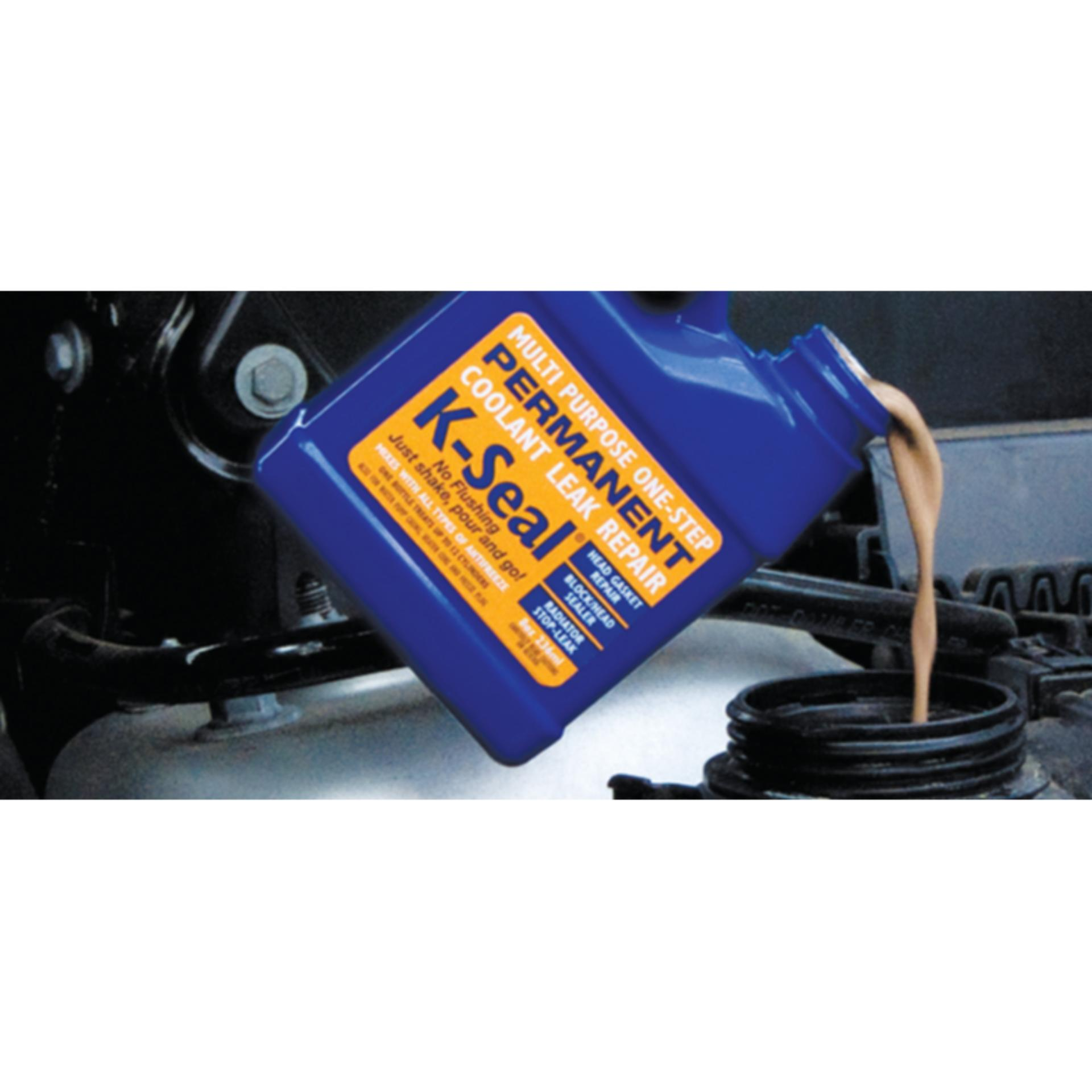 K-SEAL PERMANENT COOLANT RADIATOR HEAD GASKET LEAK REPAIR