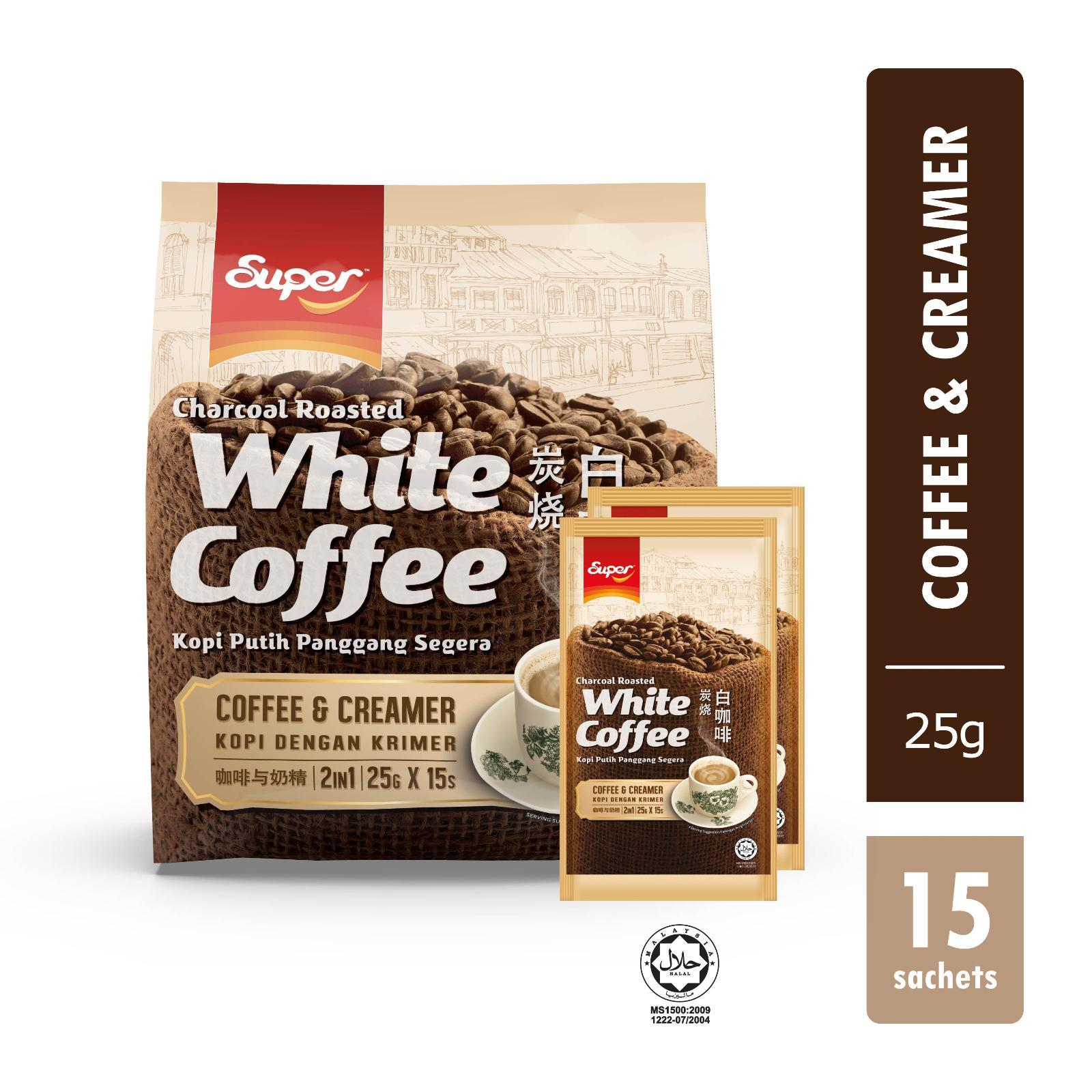 Super 2-in-1 Charcoal Roasted White Coffee