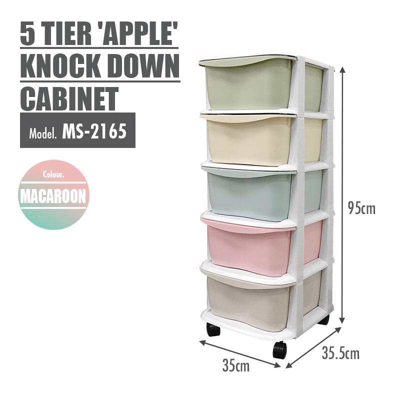 LIFE 5 Tier Apple Knock Down Cabinet