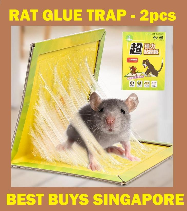 【2pcs/Pack】Rat Glue Trap Sticky Pad Adhesive Bait Rodent Animals Lizard Mice Cockroaches Bugs Ants Spiders Pest Control