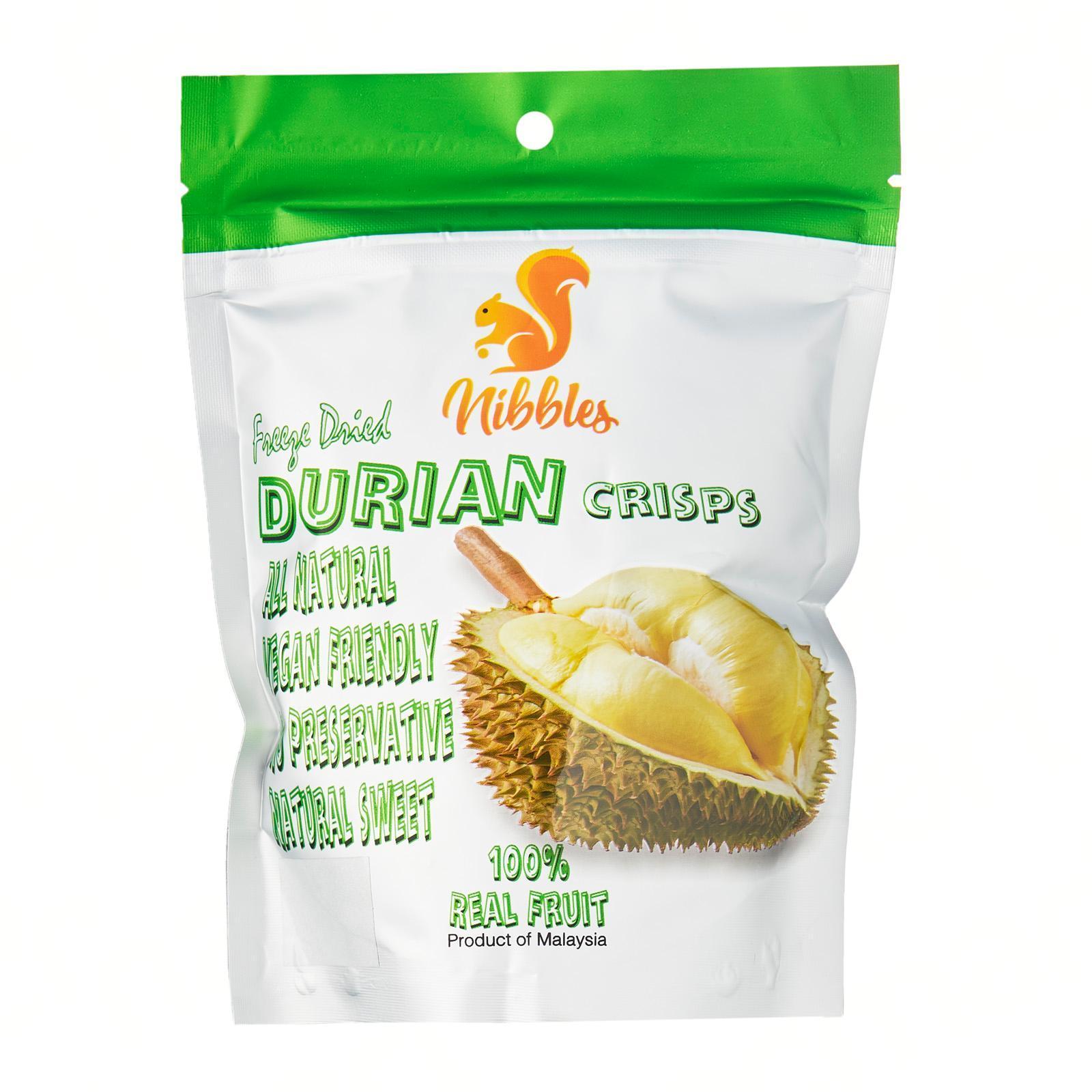 Nibbles Freeze Dried Crisps Durian