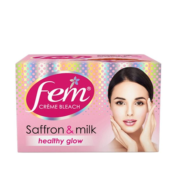 Buy FEM CREME BLEACH SAFFRON & MILK 64G Singapore