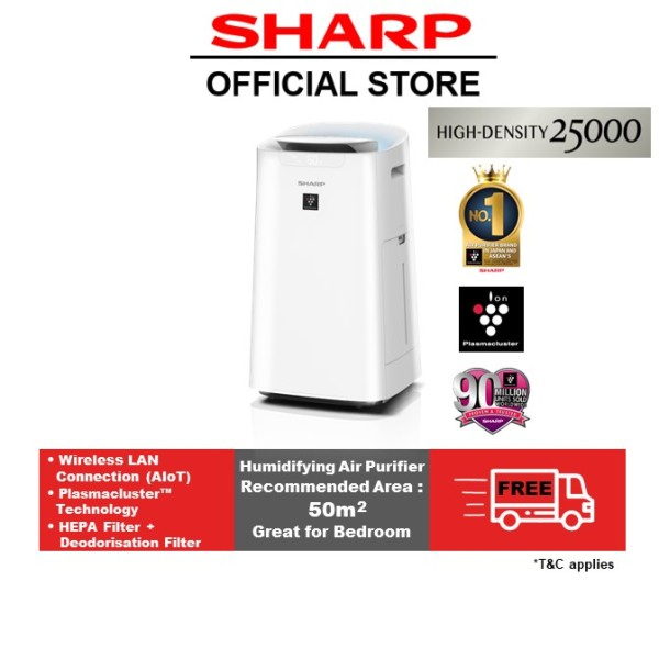 SHARP AIoT Humidifying Air Purifier KI-L60E-W Singapore
