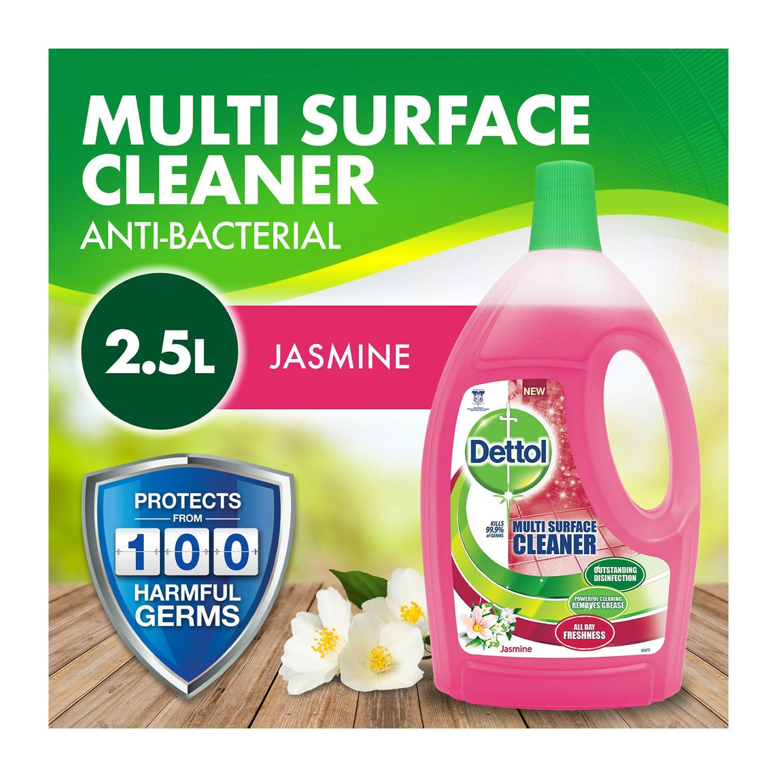 Dettol 4 In 1 Jasmine Disinfectant Multi Action Cleaner