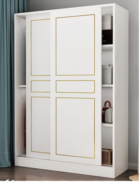 LULUS Simple Sliding Door Wardrobe (Price inclusive Delivery and Installation)