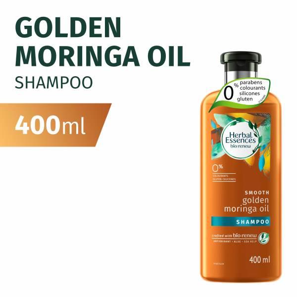 Buy Herbal Essences Smooth Golden Moringa Oil Shampoo 400ml Singapore