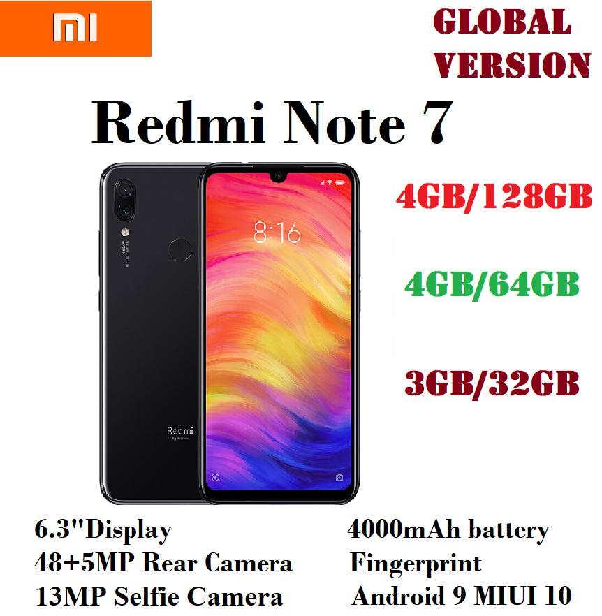 Xiaomi Redmi Note 7 (4GB 128GB / 4GB 64GB / 3GB 32GB) (EXPORT)