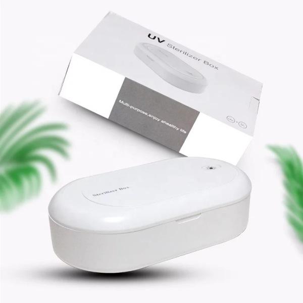 Buy Sterilizer Box Sanitizer Box UV Sterilizer For Mask Jewellery Phone Toothbrush Cosmetics UV Light Disinfection Antibacterial Sanitizer Aroma Diffuser Singapore