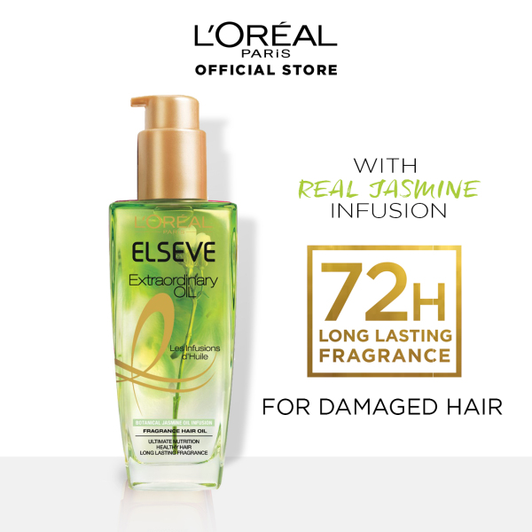 Buy LOreal Paris Elseve Extraordinary Floral Oil Treatment with Real Jasmine Infusion Singapore
