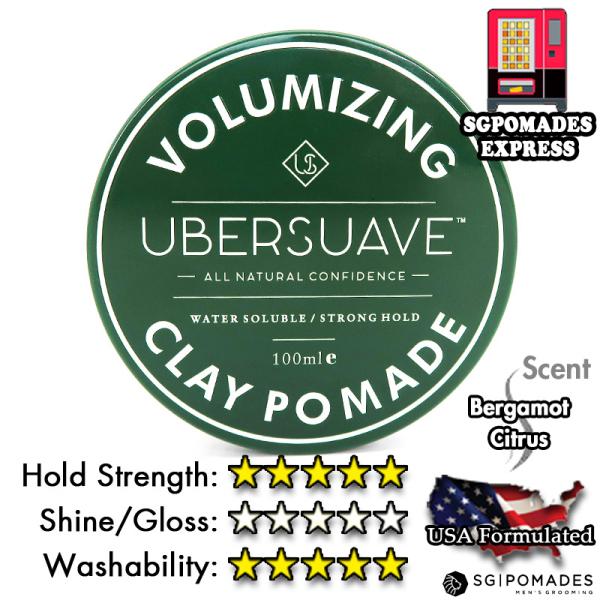 Buy Ubersuave Volumizing Clay Pomade 100ml Singapore