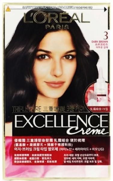 Buy LOREAL Paris Excellence Hair Colour [Creme / Fashion] Singapore