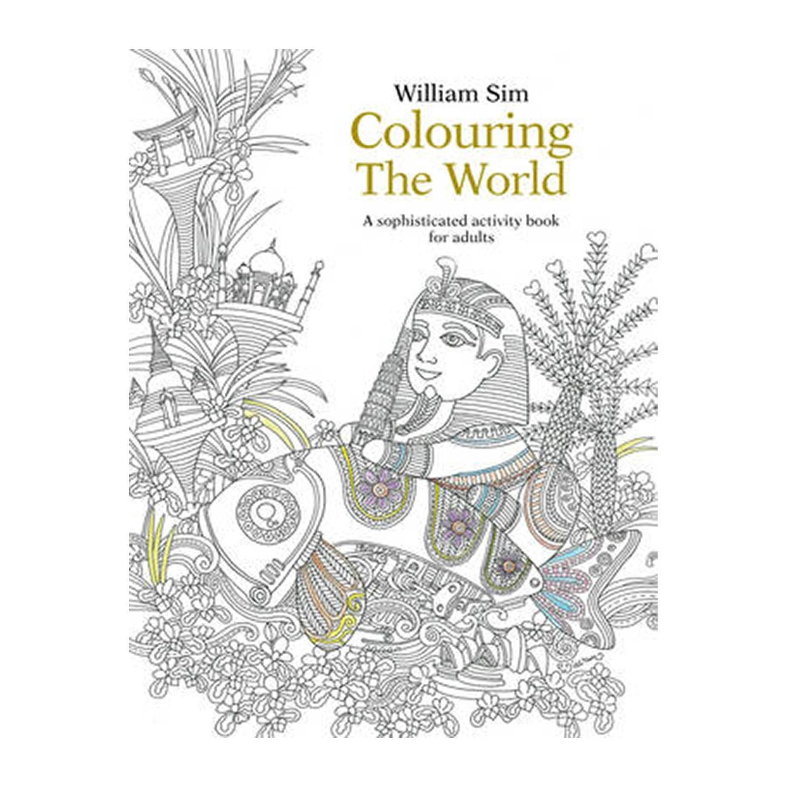 Coloring The World: A Sophisticated Activity Book For Adults: 2015 (Paperback)