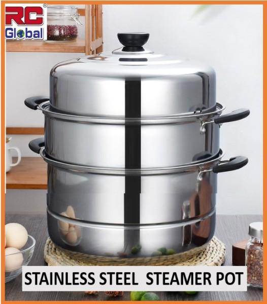 RC-Glober Steamer /  Kitchen Steamer /3 Layer multipurpose / Stainless Steel / Energy Saver Steamer Singapore