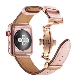 Iwatch4 Dây Đồng Hồ Da Thật Cho Apple Watch6 Dây Đồng Hồ Mẫu Mới SE Apple Dây Đồng Hồ Dây Đồng Hồ Nam Nữ Thủy Triều Thế Hệ Thứ 4 Thế Hệ Thứ 3 Thế Hệ Thứ 6 thế Hệ Thứ 5 Series 5 Thủy Triều Mới Dây Đồng Hồ Con Bướm Phong Cách Da Bò thumbnail