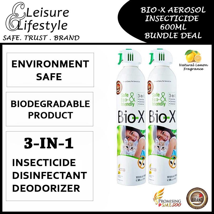 Bio-X Aerosol Insecticide 600ML Bundle Deal Bio X